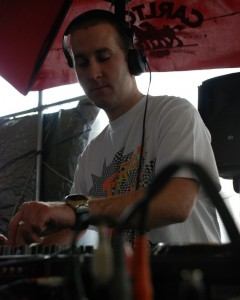 J-Slyde on the decks at Substance Rooftop in October 2010
