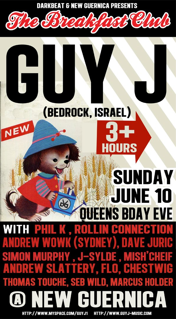 Guy J at New Guiernica June 10th 2012