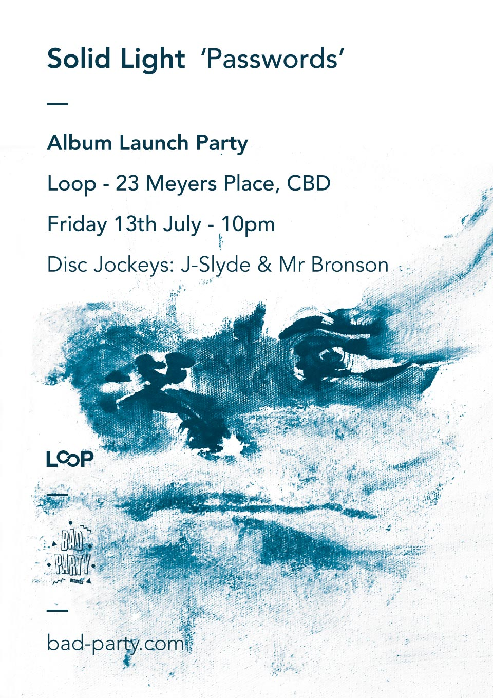 Solid Light 'Passwords' Album Launch