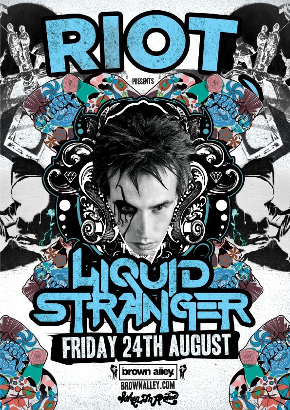 Liquid Stranger - Aug 24th @ Brown Alley