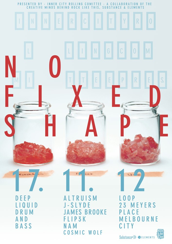 No Fixed Shape - Nov 17th @ Loop