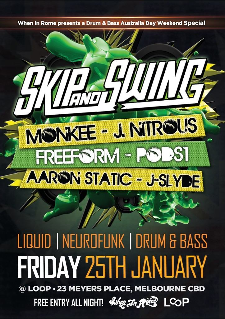 Skip & Swing - Jan 2013 @ LOOP