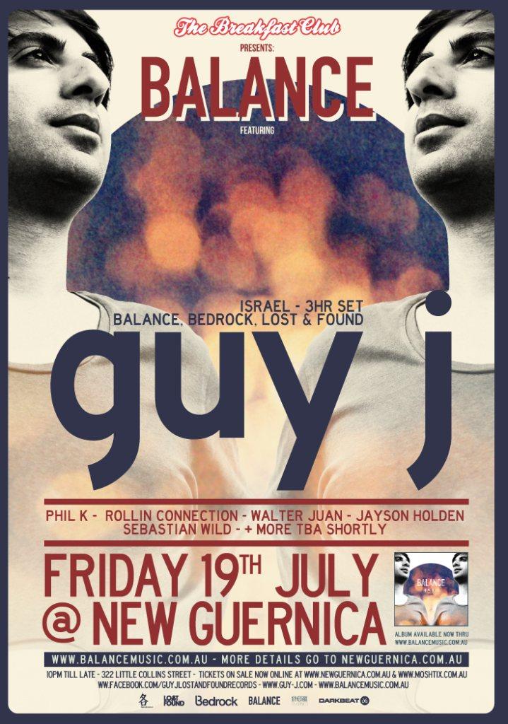 Guy J @ New Guernica July 19th 2013
