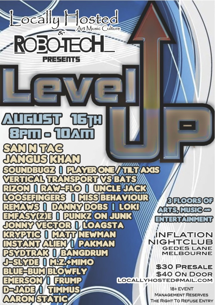 Level Up Eflyer
