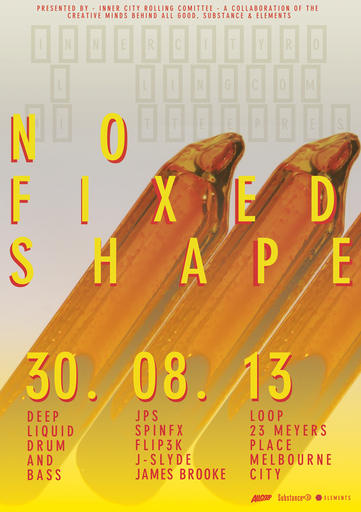 No Fixed Shape - Aug 30th EFlyer