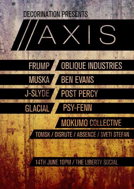 Aix - June 14th @ Liberty Social