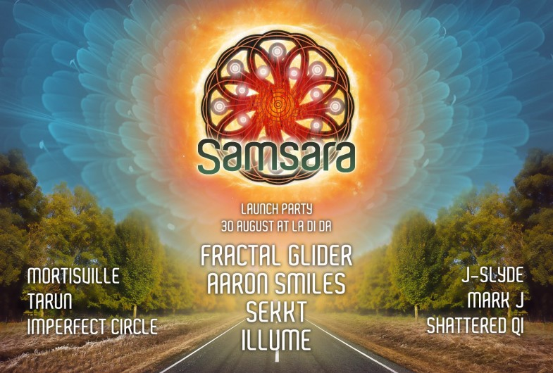 Samsara Launch Party - Aug 30th @ La Di Da